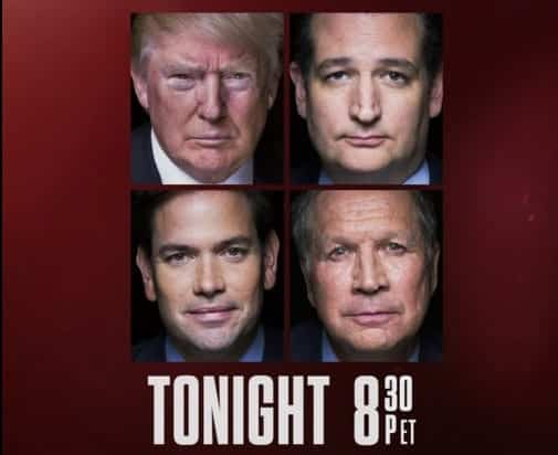 Watch Tonight The CNN's GOP Debate