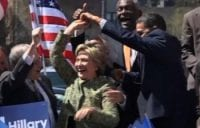 Hillary Clinton Dances On Stage With NY Senator [VIDEO]