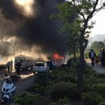 Israel Bus Bombing Injures 20+