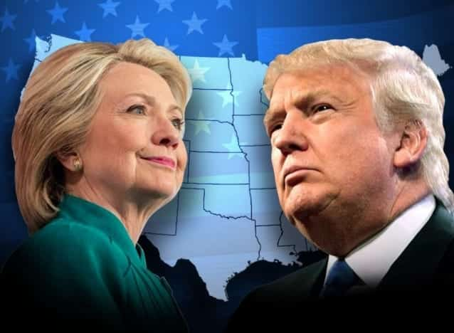Poll Clinton, Trump Tied in Florida, Ohio, and Pennsylvania