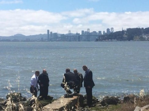 Torso found under San Francisco Bay Bridge by construction crew