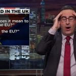 John Oliver Talks Brexit Aftermath And Trump [VIDEO]