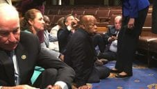 Sit-In on the House Floor Over Gun Control
