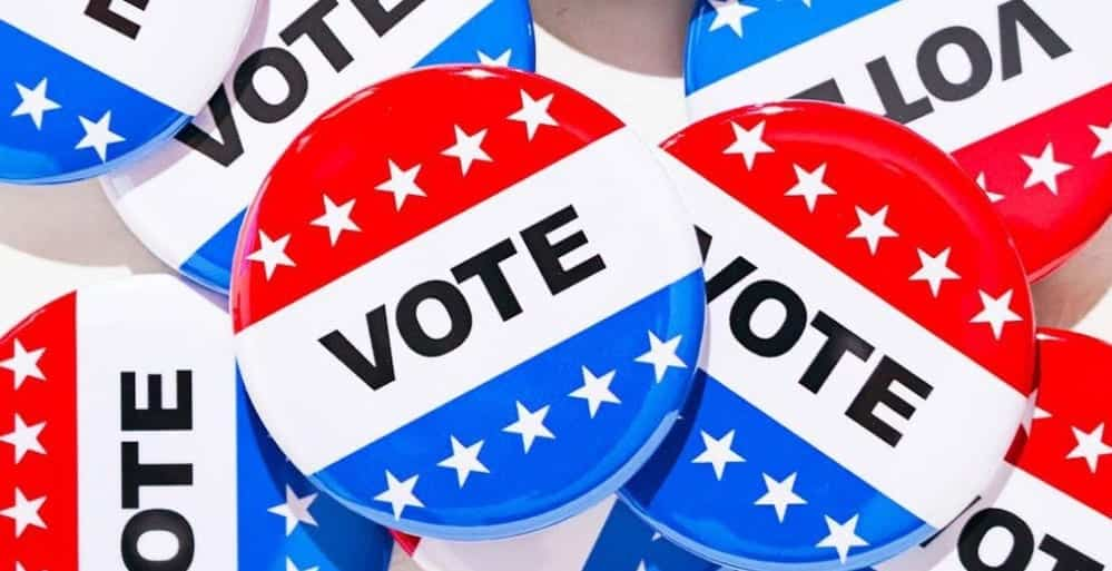 Super Tuesday Primary Day For CA,NJ, MT, NM, SD & ND Voters Head To Polls