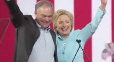 Hillary Clinton full speech with vp pick Tim Kaine