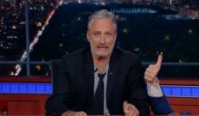 Jon Stewart to Trump supporters This Country Isnt Yours, You Don't Own It