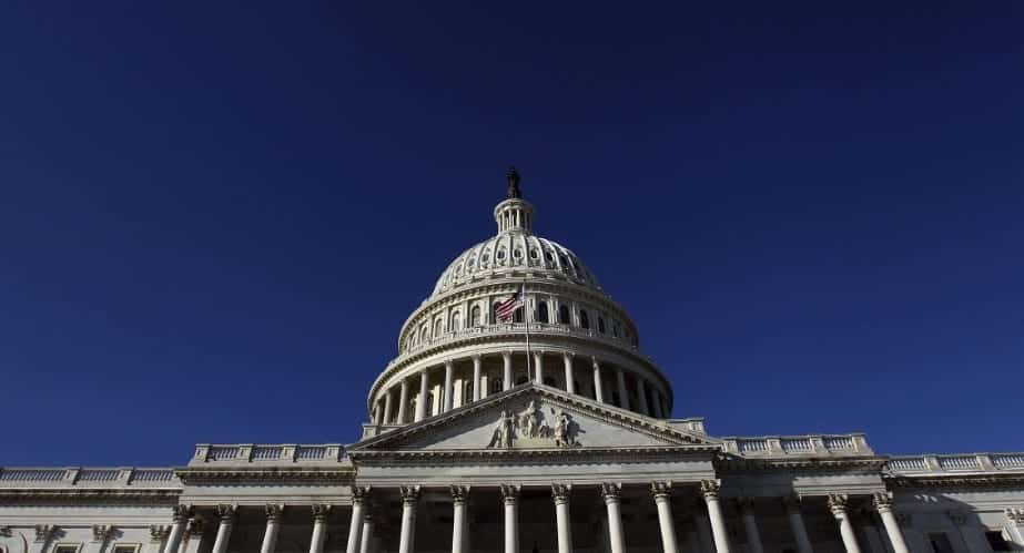 US Capitol Building On Lockdown