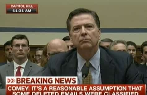 Watch Live Comey Hearing -FBI Director Testifies Over Clinton Email probe