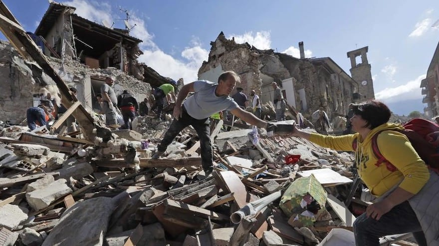 70+ Dead as Powerful Quake Hits Italy