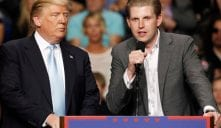 Eric Trump Dad Would Be 'Foolish' to Release Taxes