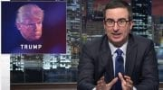 John Oliver to Trump'Drop Out' Now and 'You Would Be a Legend' [VIDEO]