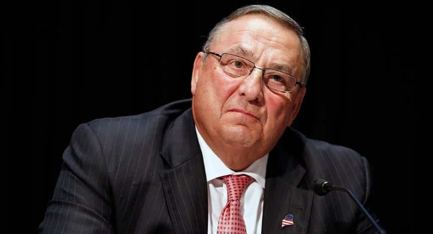 Maine Governor Paul LePage Calls Dem 'C**ksucker'