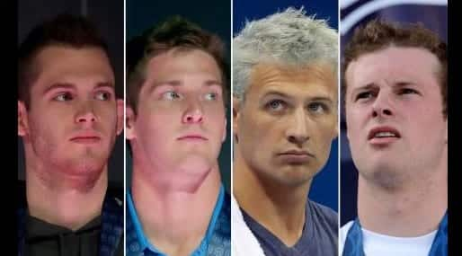 Ryan Lochte, James Feigen Indicted for False Crime Report