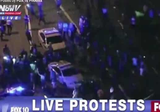 12 Officers Injured as Protests Erupt Over Charlotte Shooting