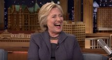 Clinton And Fallon Joke About Her Health and Recovery From Pneumonia [VIDEO]
