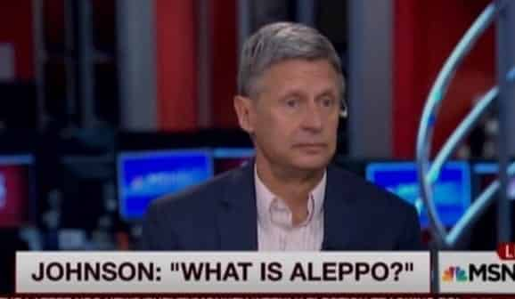Gary Johnson stuns %22Morning Joe%22 hosts by asking %22What is Aleppo