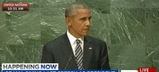 Obama Giving Last Speech As President Before U.N. General Assembly