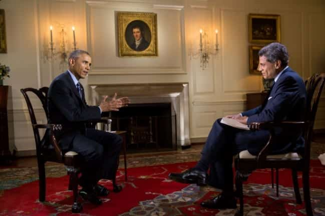 Obama Trump appeals to 'folks who feel left out' - WATCH THE INTERVIEW