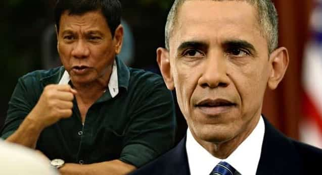 Philippine President Duterte Calls Obama A 'Son of a Whore'