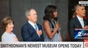 Smithsonian African-American History Museum Opens In Washington, D.C