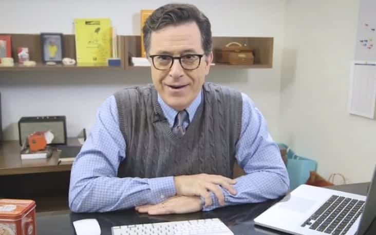 Colbert Mocks Hillary's FBI Bombshell 'Anthony Weiner's Penis Might Destroy Two Political Careers'