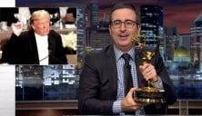 John Oliver Offers Trump His Emmy Award If He'll Accept Election Results