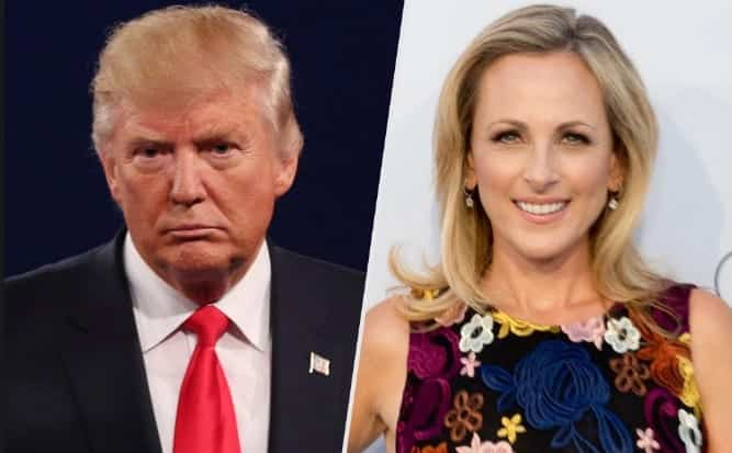 Marlee Matlin 'Abhorrent' for Trump to Call Me 'Retarded'