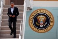 POTUS In L.A. Monday For 'Jimmy Kimmel' & Last Fundraiser