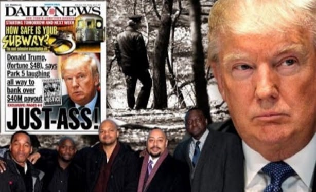 Trump Says Central Park Five Are Guilty, Despite DNA Evidence