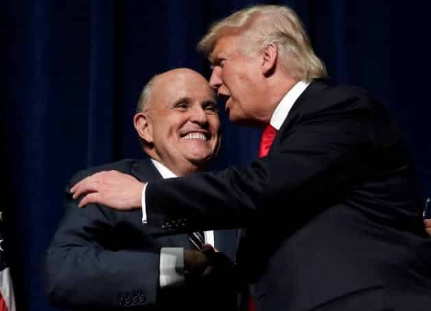 Rudy Giuliani Favorite For Secretary of State