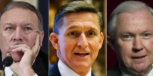 Trump Offers Michael Flynn, Jeff Sessions, Mike Pompeo Top Positions