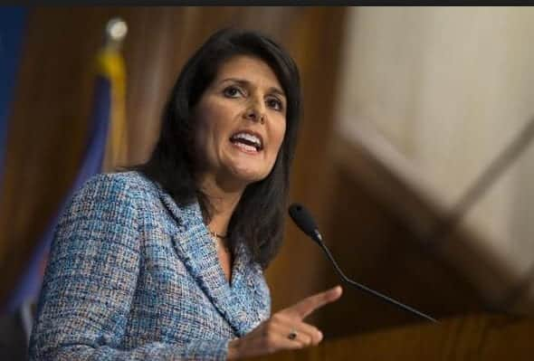 Trump Picks Nikki Haley For UN Ambassador