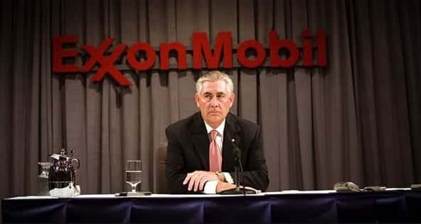 Exxon Mobil Ceo Rex Tillerson Trumps Choice For Secy. Of State
