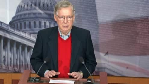 GOPer Mitch McConnell 22The Russians Are Not Our Friends.22