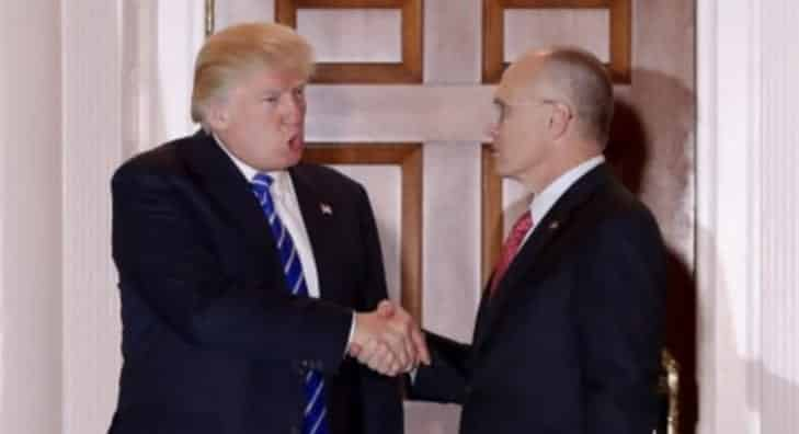 Hardee's Carl's Jr. CEO Andy Puzder Tapped As Labor Secretary