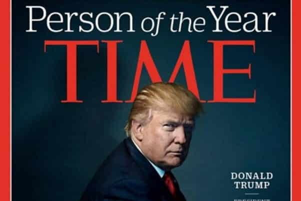 Trump Named Time's Person Of The Year