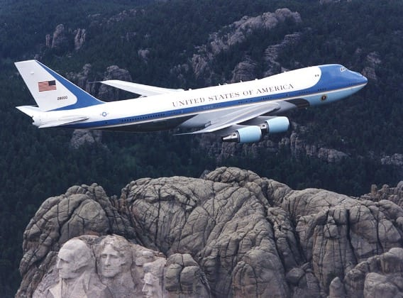 Trump Tweets Cancel New Air Force One, Costs 'Out Of Control'