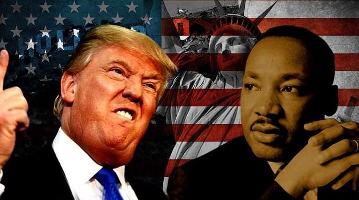donald trump will meet with martin luther king iii today