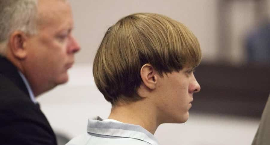 Dylann Roof Represents Himself At The Sentencing Face Of His Trial