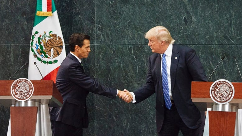 Mexican President to TrumpMy Nation 'Demands Respect'
