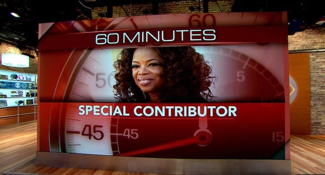 Oprah Winfrey To Be Special Contributor To 60 Minutes
