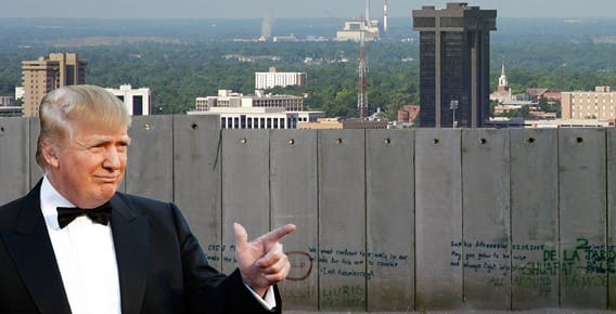 Trump Wants Congress To Fund Great Wall Mexico Will Pay Later