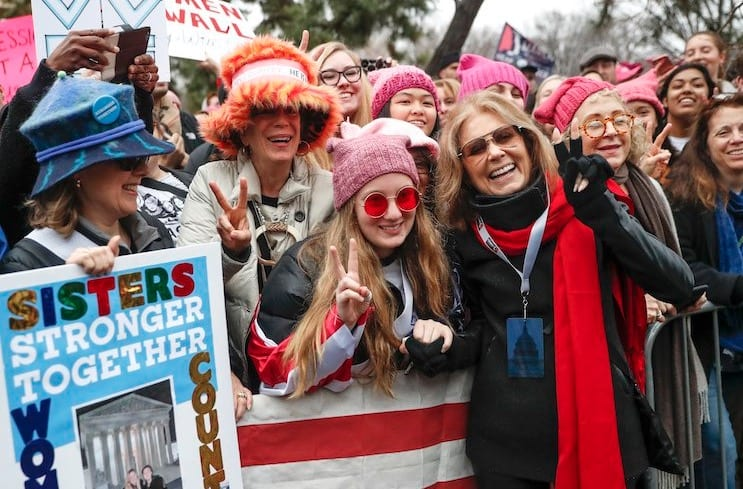 Trumps America Canadians traveling to Womens March s Denied Entry Fingerprinted Photographed Searched.
