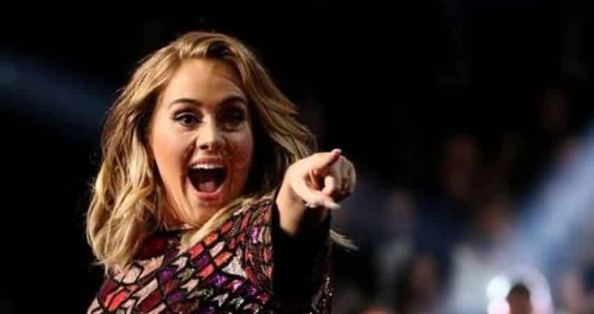 Adele Sweeps The 59th Annual Grammy Awards