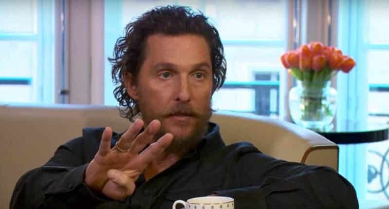 Matthew McConaughey Time to 'Embrace' Trump VIDEO