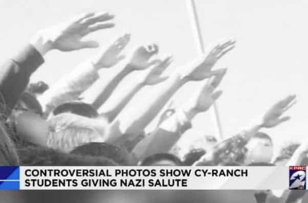 Students Give Nazi Salute in Senior Pictures