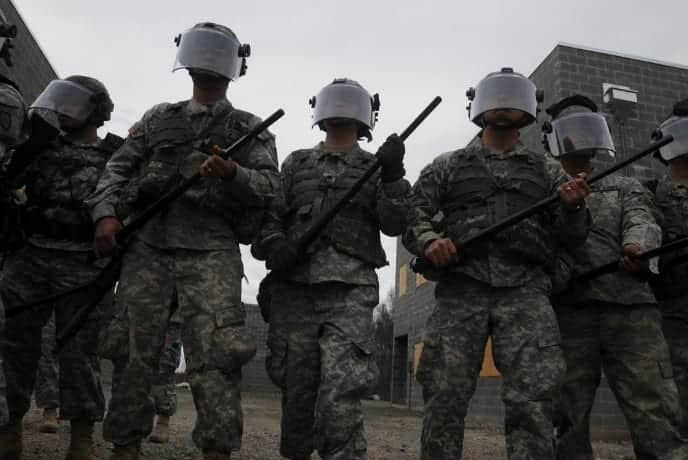 Trump Allegedly Mobilizing 100000 National Guard Troops