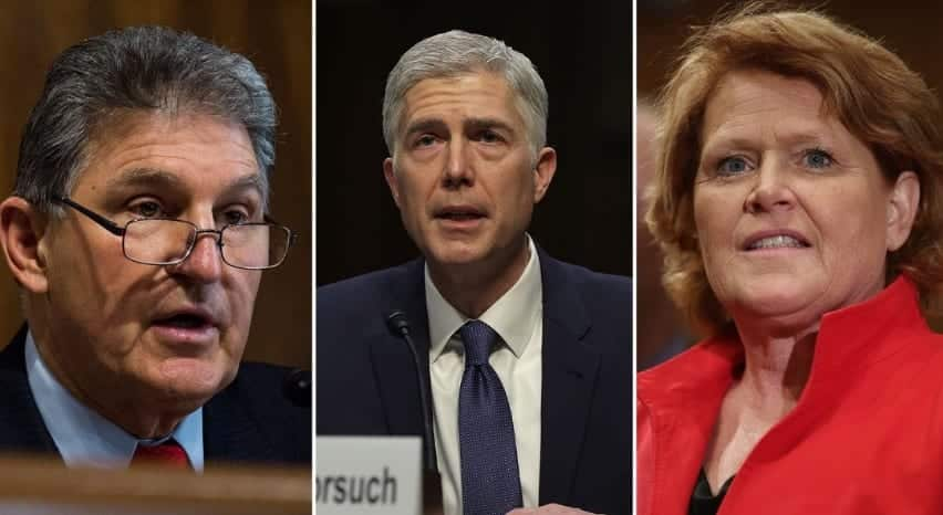 2 Dems Announce Support For Trumps SCOTUS Pick