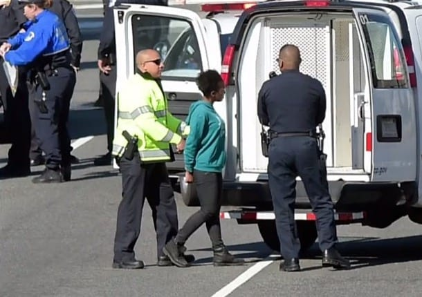 Driver In Custody After Trying To Ram Capitol Police Cruiser