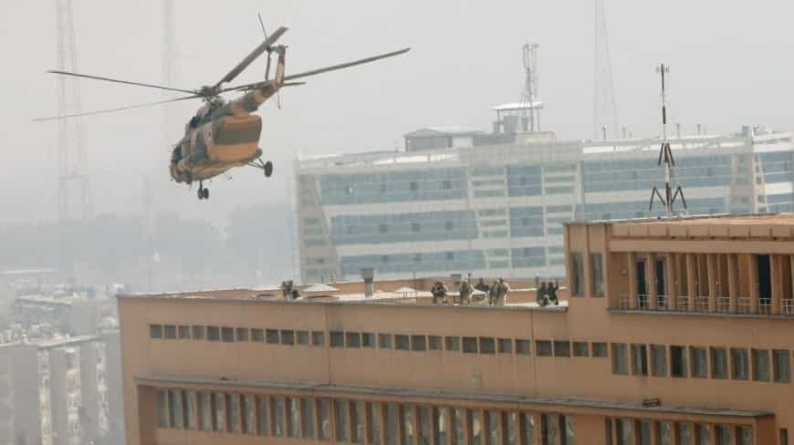 ISIS GunmenDressed as Doctors Attack Kabul Military Hospital